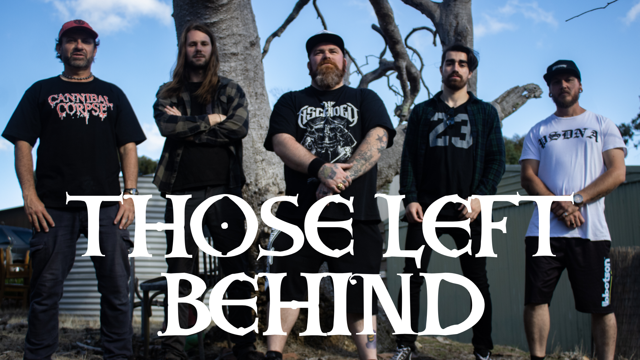 THOSE LEFT BEHIND release new video.