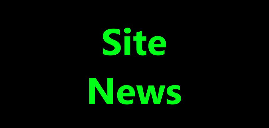 Site news.