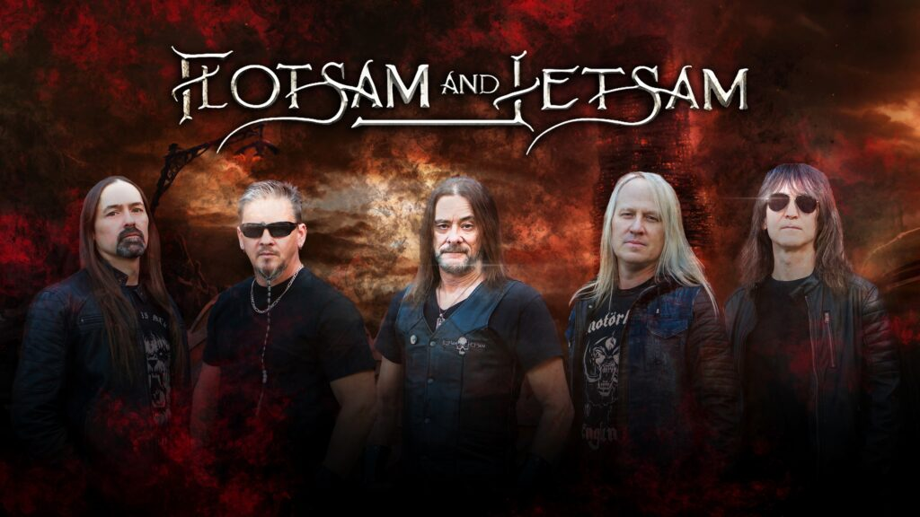 FLOTSAM AND JETSAM interview. New album, 'Blood In The Water' out now.
