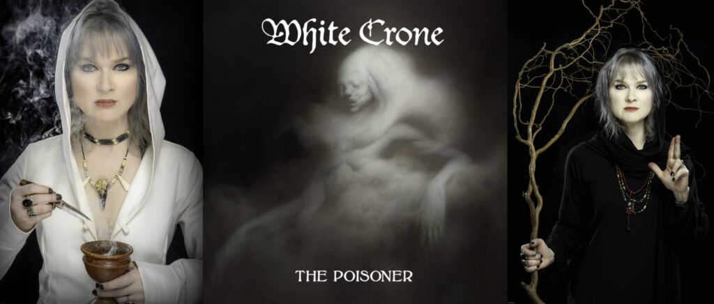 WHITE CRONE interview. 'The Poisoner' album & 'Stargazer' single out now.